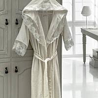 Набор Халат женский полотенца и тапочки  Kleopatra