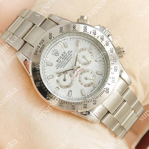 Механические наручные часы Rolex Daytona Men Silver/White 2028