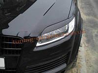 Реснички на фары для Audi Q7 2005-2014