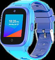 Детские смарт-часы Q55 с GPS и родительским контролем синие