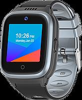 Детские смарт-часы Q55 с GPS и родительским контролем черно-серые