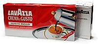 Кофе молотый Lavazza Crema e Gusto Ricco, 80% Арабика/20% Робуста, Италия, 250 г