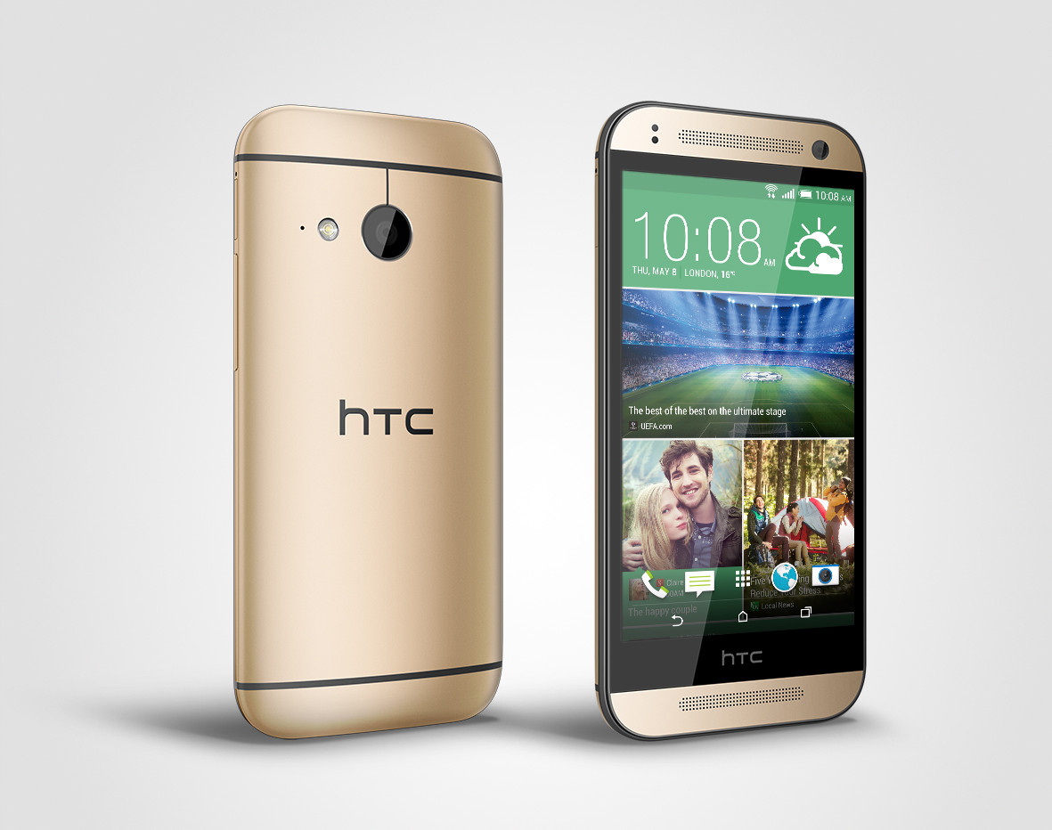 Смартфон  HTC One mini 2 (Gold)