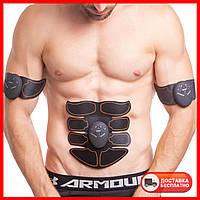 Миостимулятор для тренировки всех групп мышц SMART FITNESS EMS Fit Boot Tonin ZD-0322 серый-оранжевый
