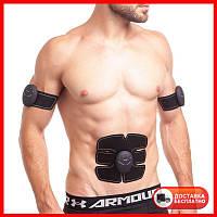 Миостимулятор для тренировки всех групп мышц SMART FITNESS EMS Fit Boot Tonin ZD-0324 черный