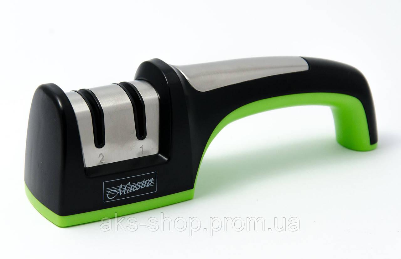 Точилка для ножа 2 в 1 MAESTRO MR 1491