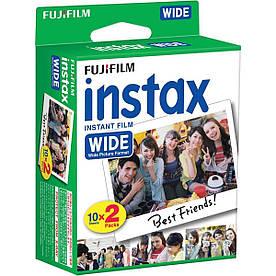 Плівка картриджі для Fujifilm INSTAX WIDE FILM 2x10