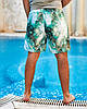 Мужские пляжные шорты из плащевой ткани с подкладкой, размеры от 48 до 56, фото 4