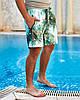 Мужские пляжные шорты из плащевой ткани с подкладкой, размеры от 48 до 56, фото 3