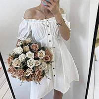 Платье нежное с открытыми плечами (9560), фото 1