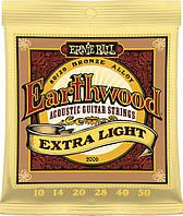 Струны Ernie Ball 2006 EarthwoodBronze Alloy Extra Light 10-50