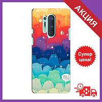 Чехол для OnePlus 8 Pro / Бампер на OnePlus 8 Pro / Чехол для Ван плюс 8 Про (Mew)