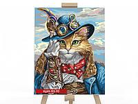 "Картина за номерами ""Кіт у чоботях"", фото 1"