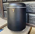 Увлажнитель воздуха ультразвуковой Wi-Y USB увлажнитель диффузор с подсветкой 1000 мл. Черный, фото 9