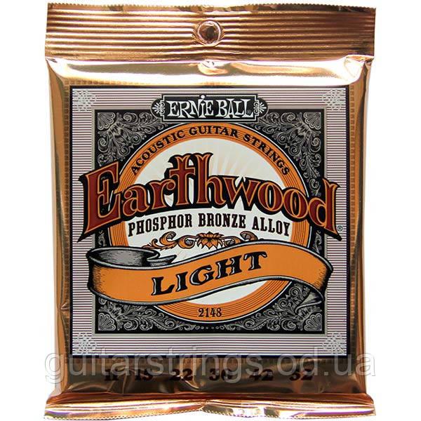Струны Ernie Ball 2148 Earthwood PhosphorBronze Light 11-52