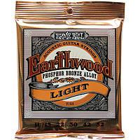Струны Ernie Ball 2148 Earthwood PhosphorBronze Light 11-52, фото 1