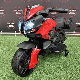 Дитячий мотоцикл (мотор 1*25W) Baby Tilly JC919 EVA RED Червоний