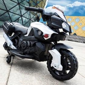 Дитячий мотоцикл (мотор 1*25W) Baby Tilly JC919 EVA WHITE Білий