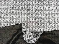 Трикотаж жаккард серый, фото 1