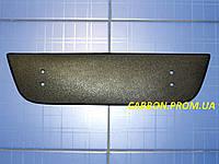Зимняя заглушка решётки радиатора  Фиат Добло низ с 2005 матовая Fly. Утеплитель решётки радиатора Fiat Doblo