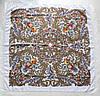 """Павлопосадський платок """"Таємниця серця"""" (90см) 608015, фото 3"""