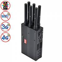 Мощная переносная глушилка GSM / CDMA / DCS / PCS / 3G / 4G / Wifi