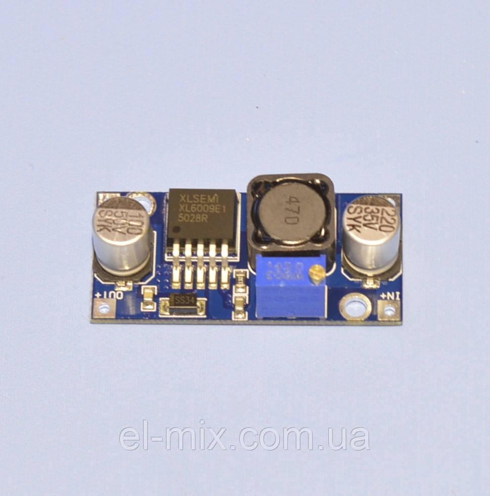 Преобразователь DC-DC повышающий XL6009 (вх3,2-32В вых4-38В)