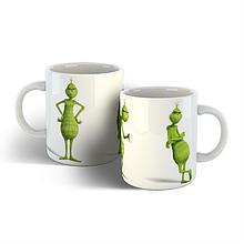 Чашка Гринч, новогодняя чашка