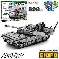 Конструктор Limo Toy KB 183 танк на 898 дет