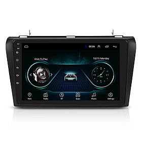 Штатна магнітола 9 дюймів Mazda 3 2009-2013рр пам'ять 1/16 ГБ 45 Вт GPS WiFi КОД: 4001-11393