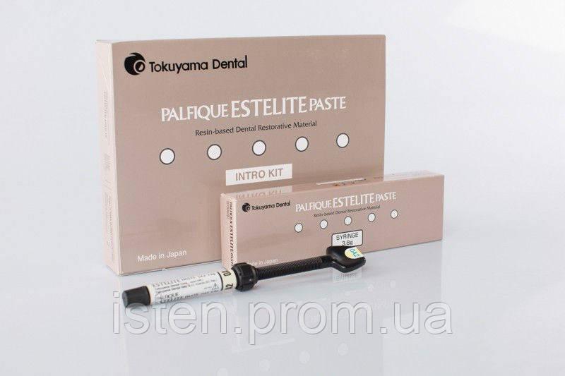 PALFIQUE ESTELITE PASTE SYRINGE KIT, Tokuyama Dental (Палфік Естелайт Пест), набiр 6 шприцiв по 3,8 гр. + бонд