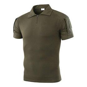 Тактична футболка з коротким рукавом ESDY A416 XXL чоловіча Зелена КОД: 4251-12493