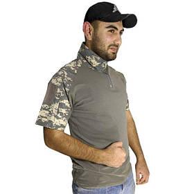 Тактична футболка з коротким рукавом ESDY A416 розмір XL ACU Камуфляж КОД: 4251-12488