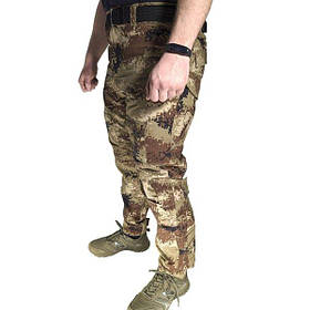 Тактичні штани Lesko B603 розмір 32 Цифровий камуфляж КОД: 4257-12635