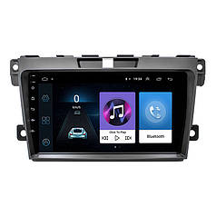 Штатна автомобільна магнітола Lesko для Mazda CX-7 (2008-2014р.) пам'ять 1/16 Гб Wi Fi Android GPS