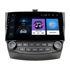 Штатна автомобільна магнітола 10.1 Honda Accord 1/16 Gb Android КОД: 4359-12690