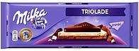 Шоколад молочный Milka Triolade (милка), 300 гр