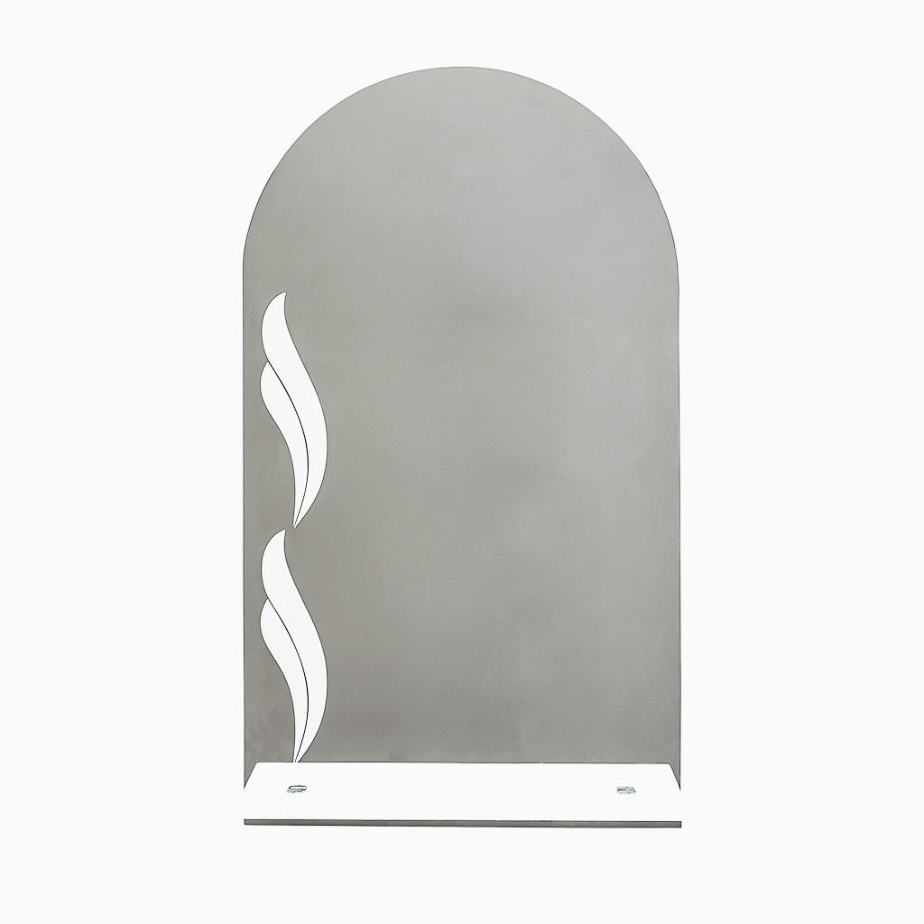 Дзеркало з візерунком піскоструй П 7.1 40х70