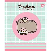 Тетрадь А5 12 Лин. YES Pusheen Sweet Cat уп/10шт