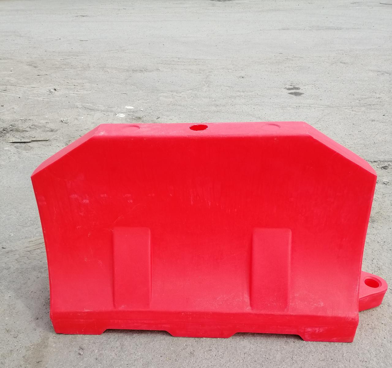 Дорожній бар'єр водоналивний пластиковий 1.2 (м)