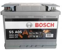 Аккумулятор S5 AGM SILVER 60 А*ч -/+ 680A