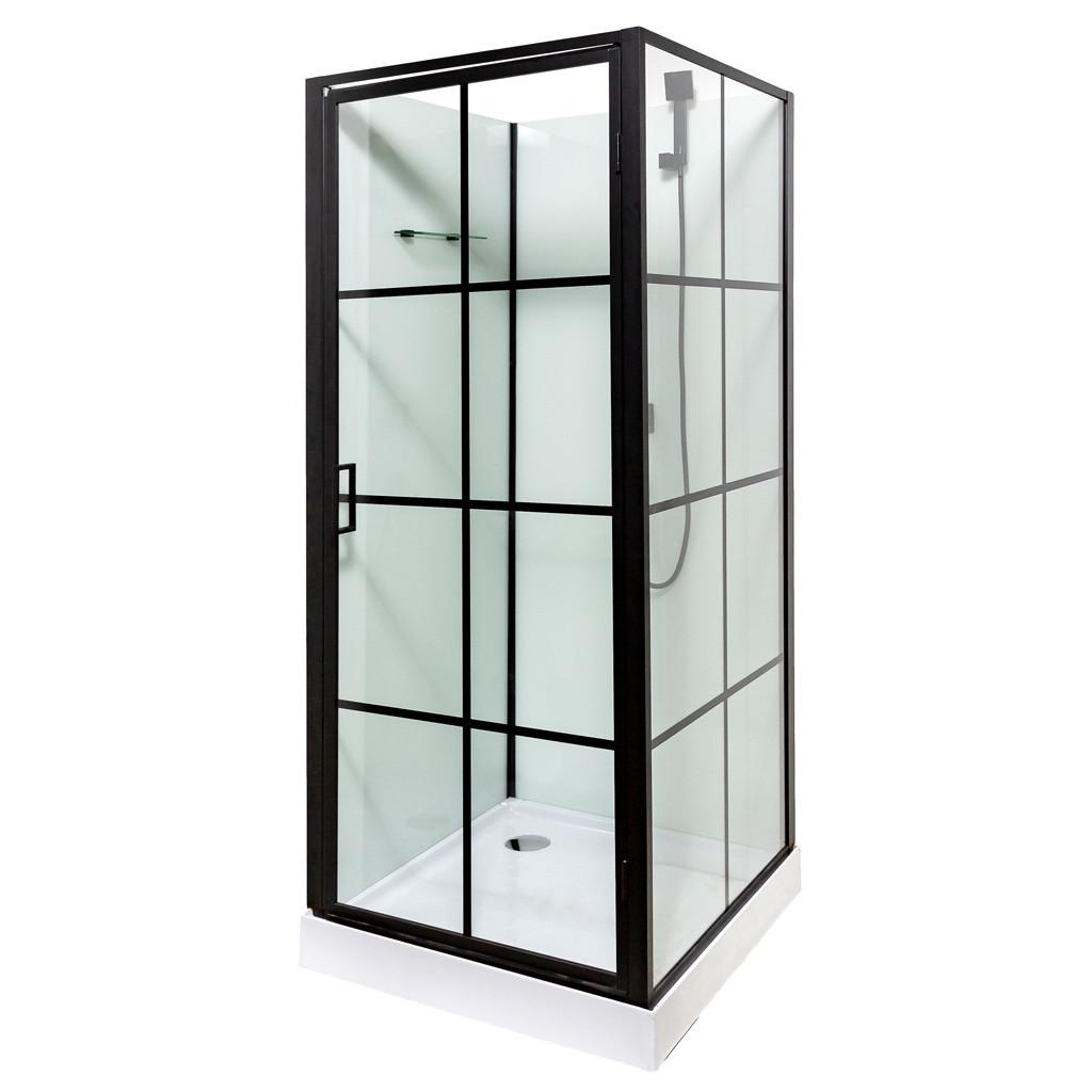 Гідромасажний бокс 9900 90x90x207, дрібний піддон квадратний