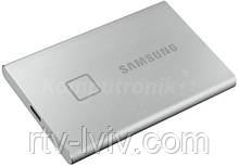Диск зовнішній Samsung Portable SSD T7 Touch 2TB silver
