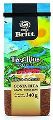 Кофе Cafe Britt Costa Rican Tres Rios Valdivia в зернах 340 г