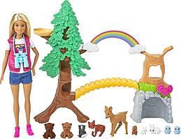 Barbie Wilderness Guide Interactive Playset Интерактивный игровой набор Барби GTN60 Mattel
