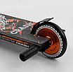 """Трюковый самокат Best Scooter 65640 """"Crash"""" Cr-Mo черно-оранжевый, фото 4"""