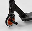 """Трюковый самокат Best Scooter 65640 """"Crash"""" Cr-Mo черно-оранжевый, фото 9"""