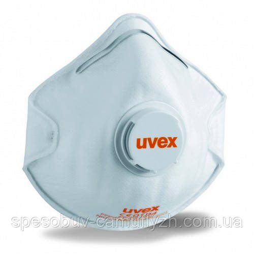 Респіратор Uvex 2210 FFP2 N95 c клапаном від упаковки по 15 штук