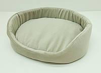 Лежак для собак и котов Мрия бежевый, фото 1