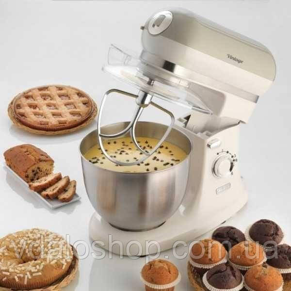 Кухонная машина ARIETE Vintage 1588/03 Миксер Планетарный Гарантия